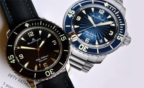 Swiss Made Blancpain Fifty Fathoms Replica Watches