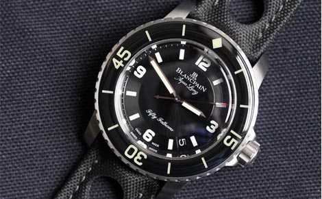Swiss Top Quality Blancpain Fifty Fathoms Aqualung Replica Watches