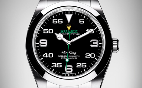 Swiss Best Quality Rolex Air King Replica Watches