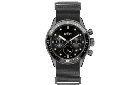 Swiss Luxury Blancpain Fifty Fathoms Bathyscaphe Flyback Chronograph Replica Watches For Mens