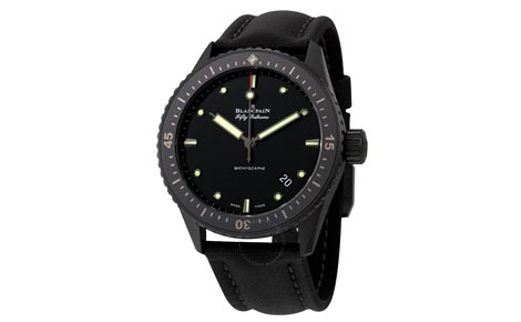 Swiss Blancpain Fifty Fathoms Bathyscaphe Replica Watches For Mens