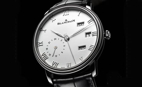 Swiss Top Blancpain Villeret Annual Calendar Replica Watches
