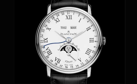 Swiss Luxury Blancpain Villeret Moonphase Replica Watches For Sale